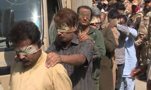 32 MQM workers remanded for 90 days; 26 handed over to police on 14-day remand