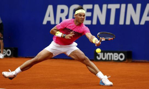 Nadal wins first title of year in Argentina