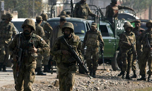 Two killed, seven injured as gunmen open fire on security forces in Peshawar