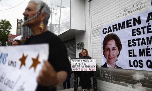 Attacks against Mexican journalists rise under Pena Nieto: report
