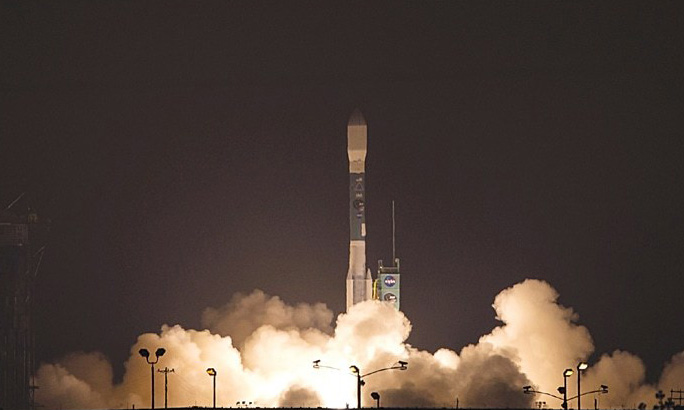 Delta rocket blasts off from Florida with improved GPS satellite