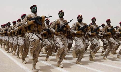 Saudi Arabia building up military near Yemen border: US officials