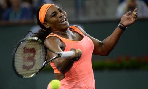 Serena makes winning return to Indian Wells