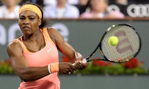 Serena deals with Niculescu but Bouchard upset