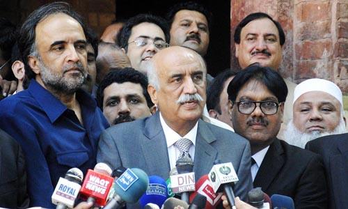 Khurshid Shah asks CEC to take notice of FATA ordinance
