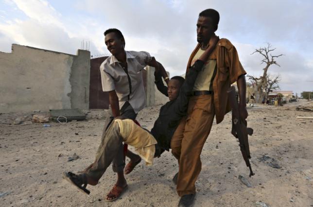 Somalia hotel siege ends, 14 dead