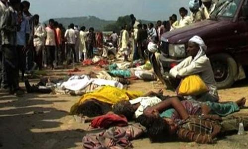 Ten killed in stampede during Hindu ritual in Bangladesh