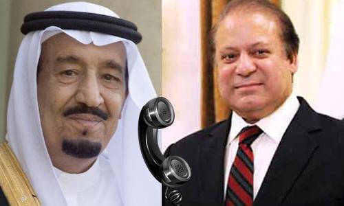 PM Nawaz Sharif assures Saudi King Salman of full support
