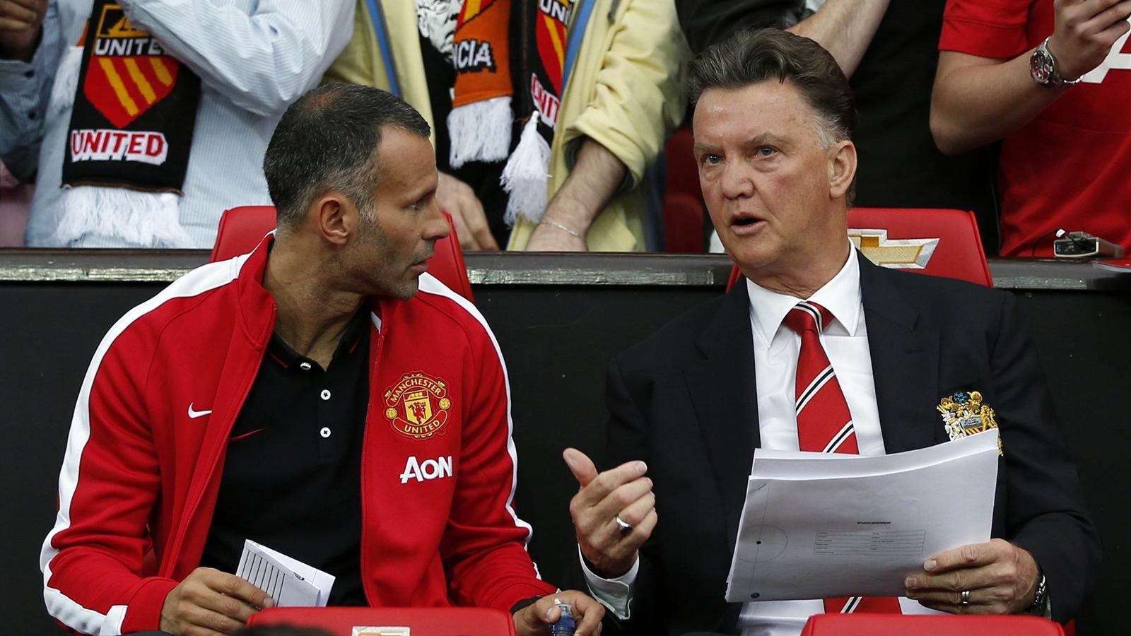 Van Gaal denies United rift with Giggs