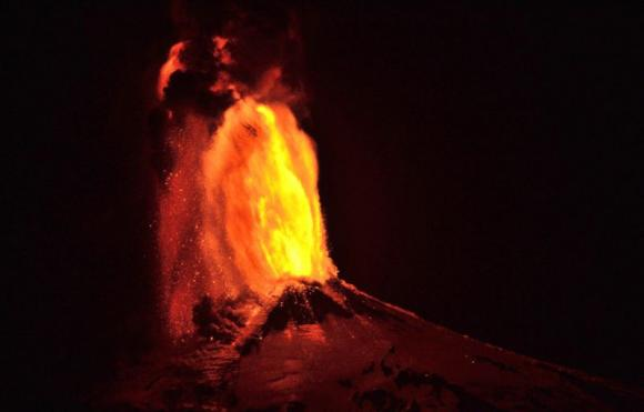 Volcano Villarrica erupts in Chile, villages evacuated