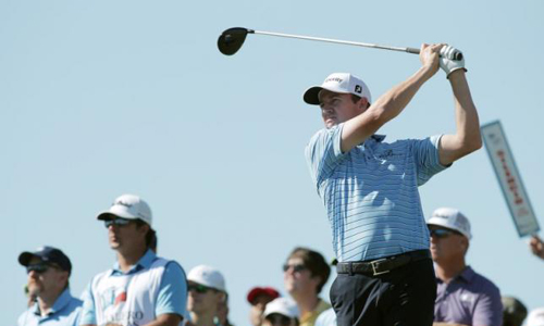 Walker takes four-shot lead at windy Texas Open