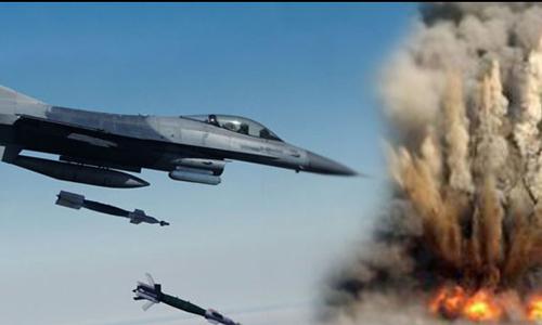 PAF jets pound Tirah valley, kill 34 suspected terrorists