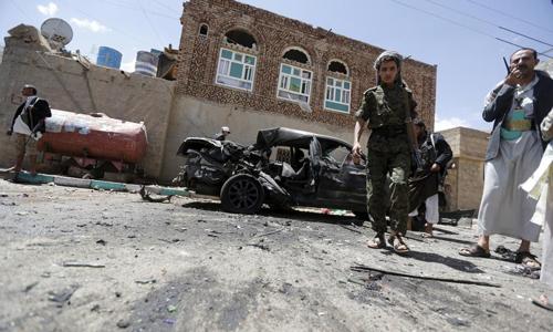 Suicide bombers kill 137 in Yemen mosque attacks