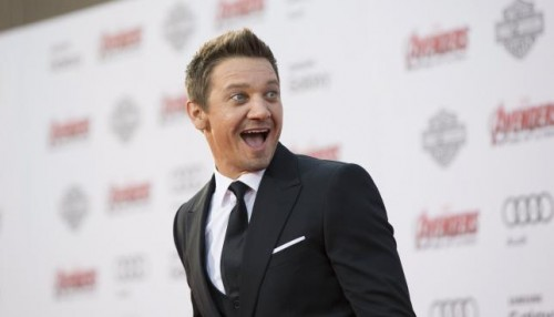 Cast member Jeremy Renner poses at the premiere of 'Avengers: Age of Ultron' at Dolby theatre in Hollywood, California April 13, 2015.