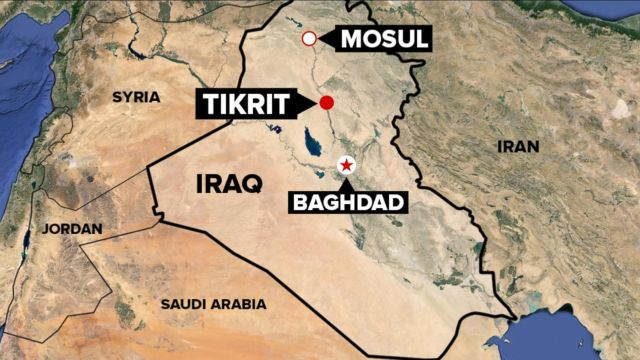 Shi'ite fighters leave Tikrit after looting