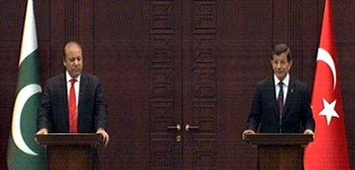 Pakistan, Turkey want peaceful resolution of Yemen issue, says PM Nawaz Sharif