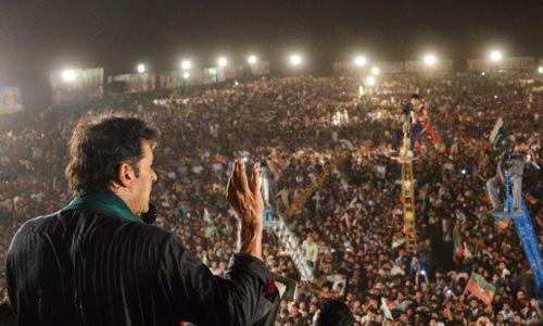 NA-246: Imran Khan to address rally at Shahra-e-Pakistan on April 19