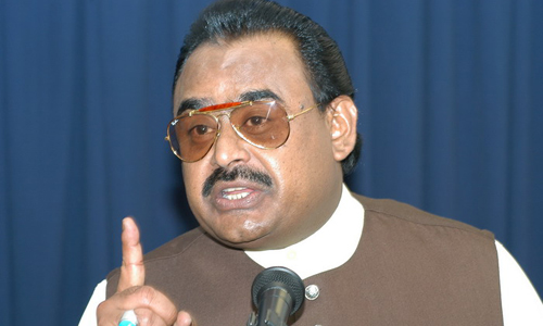 PTI members have returned to assemblies after licking their own spit: Altaf Hussain