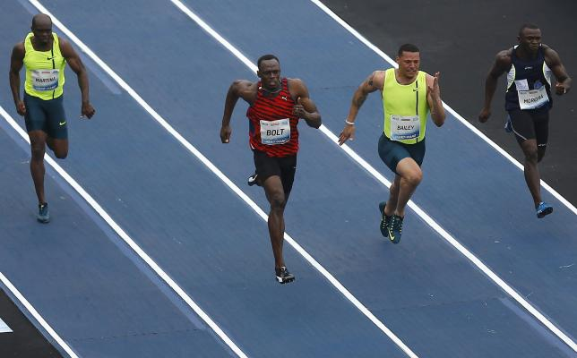 Bolt wins 100m in Rio but unhappy with performance