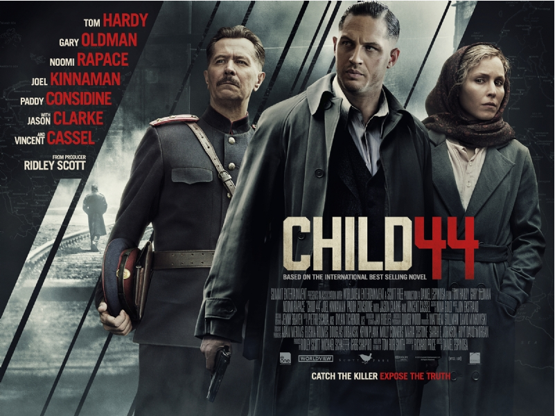 Soviet-era thriller 'Child 44' hits screens -- but not in Russia