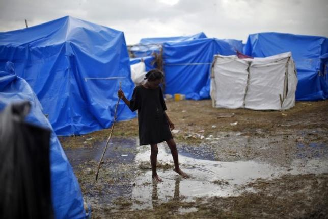 Early Haiti rains bring risk of bleak cholera season