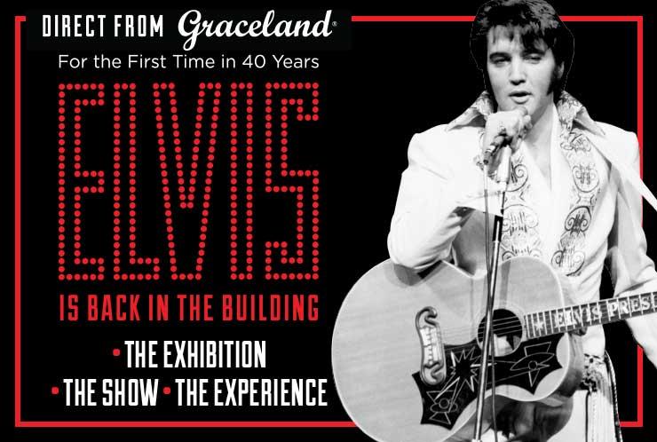 Back in the building: Elvis exhibition opens in Las Vegas