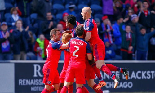 Maloney inspires Fire to win over struggling Toronto