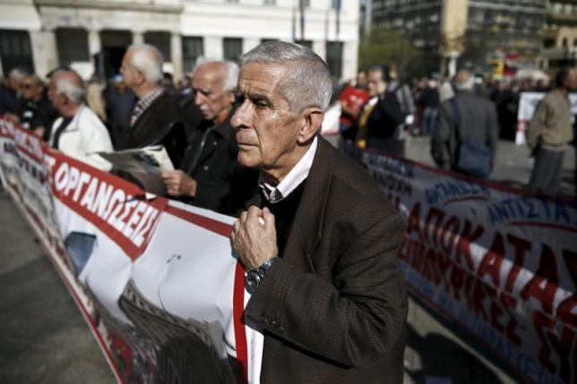 Greek anti-establishment protesters occupy buildings, enter parliament grounds