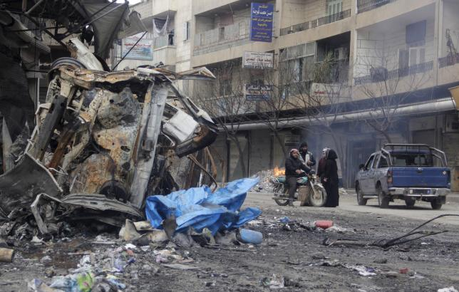 Islamic State expands in Damascus, al Qaeda vows sharia for city