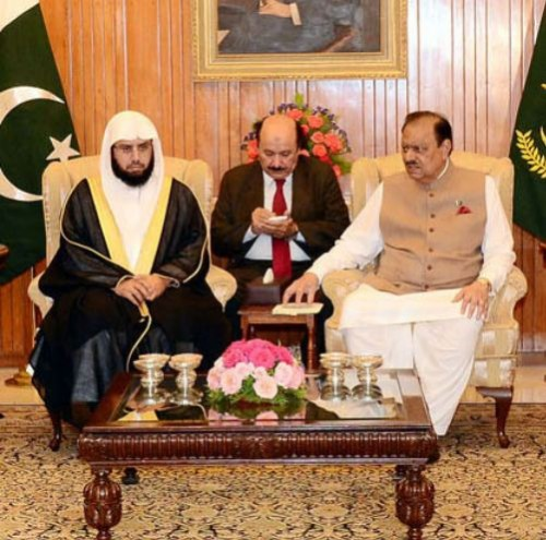Imam with President