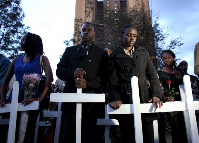 Kenyan university students march to demand security after Garissa
