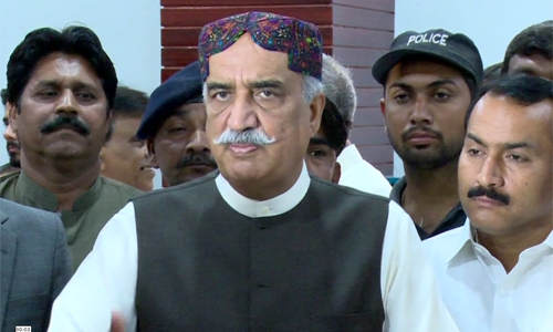 Pakistan should play a neutral role in Yemen issue, says Khurshid Shah