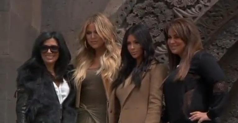 Kim Kardashian gets red carpet treatment in Armenia