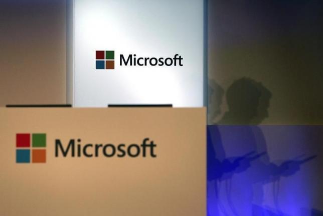 Microsoft profit, revenue beats Wall Street view; shares up
