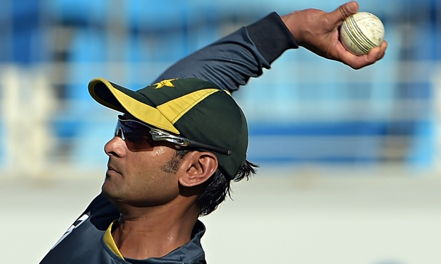 Hafeez positive about clearing the bowling test