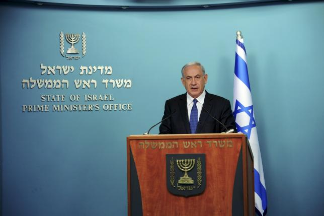 Iran must commit to recognising Israel's right to exist in final deal - Netanyahu