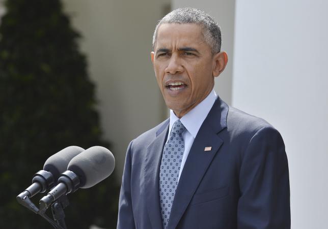Obama calls Iran framework agreement a historic 'good deal'
