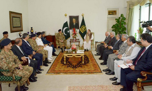PM summons parliament's joint session over Yemen conflict on Monday; visits Turkey tomorrow