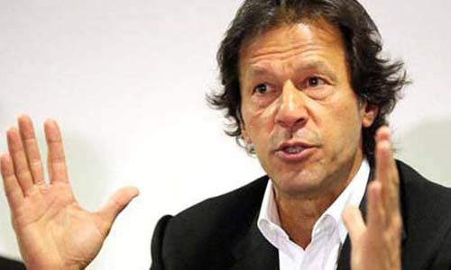 PTI chief Imran Khan urges people to vote in NA-246 by-poll to change their destiny