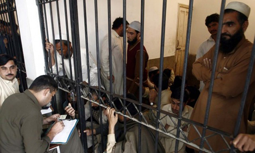 649 suspects, including 51 illegal Afghans, arrested in Peshawar