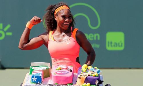 Serena into Miami semi-finals with 700th career win
