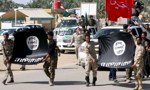 Shi'ite fighters leave Tikrit after looting: Iraqi officials