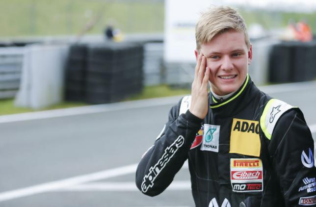 Schumacher's son wins on his debut F4 weekend