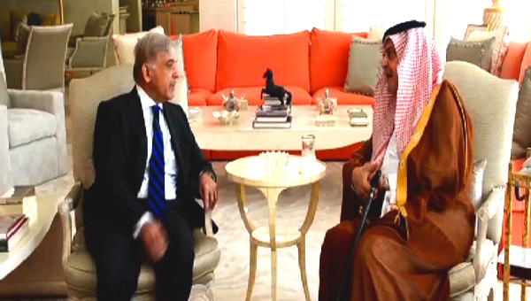 Shahbaz Sharif assures Saudi Arabia of support in tough times