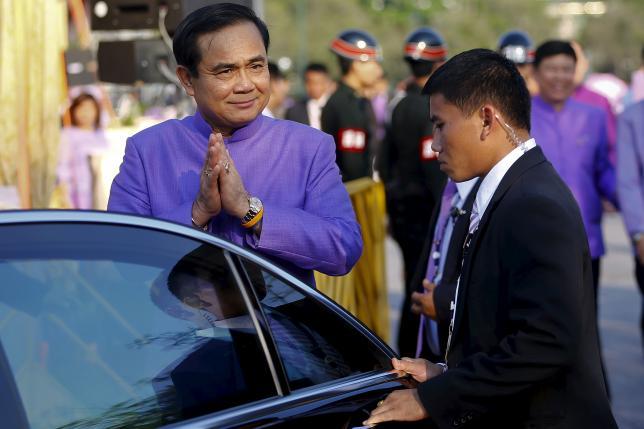 Thai junta chief says won't tolerate criticism of military