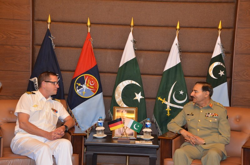 Chief of German Naval Staff calls on CJCSC