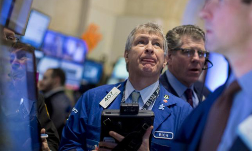 Wall Street ends higher as rate hike worries ease
