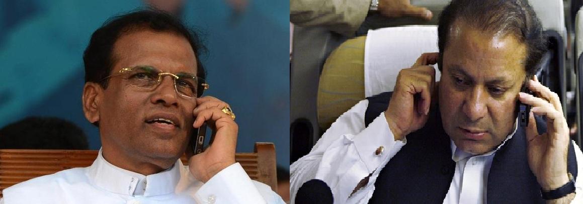 PM Nawaz Sharif phones Sri Lankan President to condole brother's death
