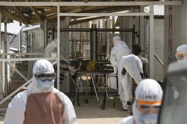 Sierra Leone to start laying off Ebola workers as cases fall: president