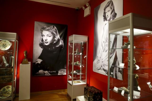 Lauren Bacall memorabilia, art sell for $3.6 million in two-day sale
